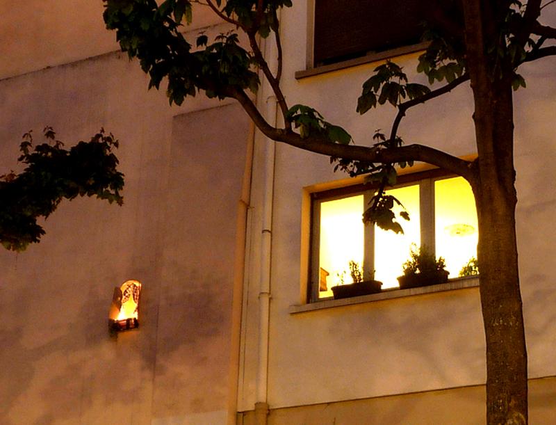 La façade habitée by Collectif etc,
