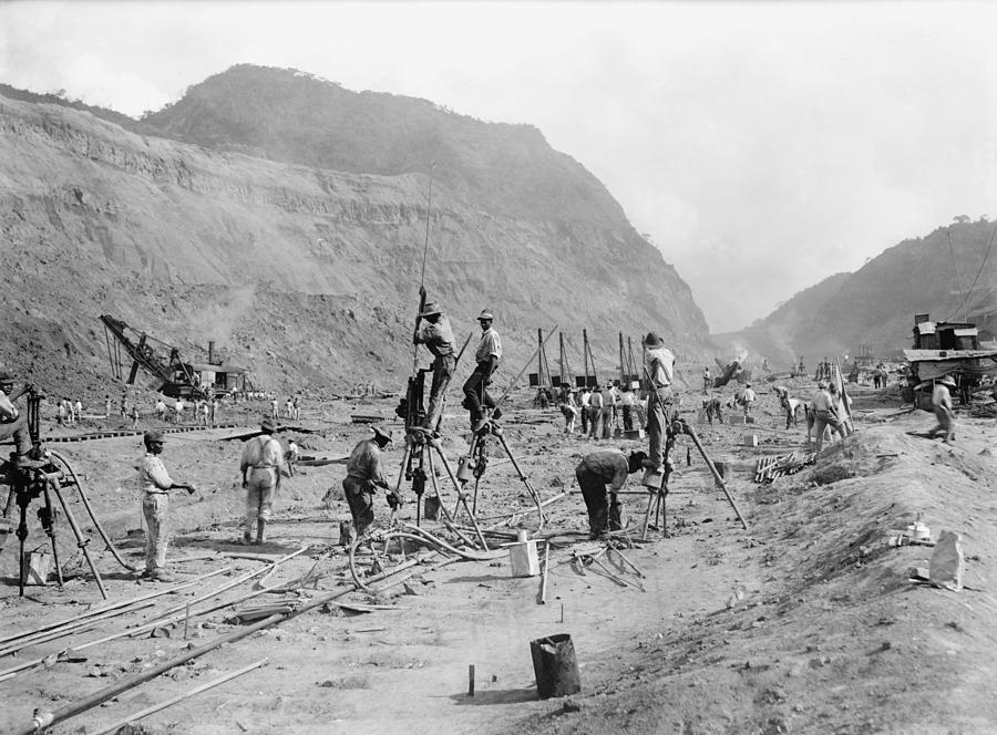 Construction du canal de Panama