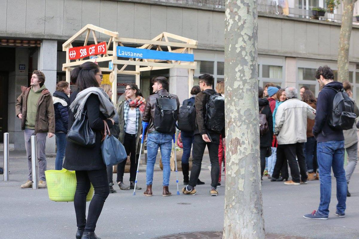 Pôle Gare Lausanne – Remix Public Space