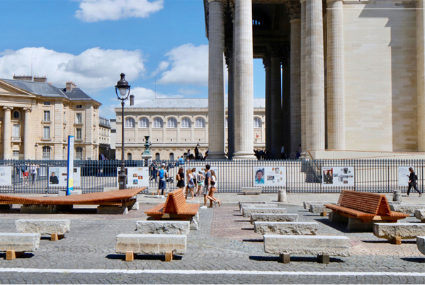 Les MonumentalEs – Place du Panthéon